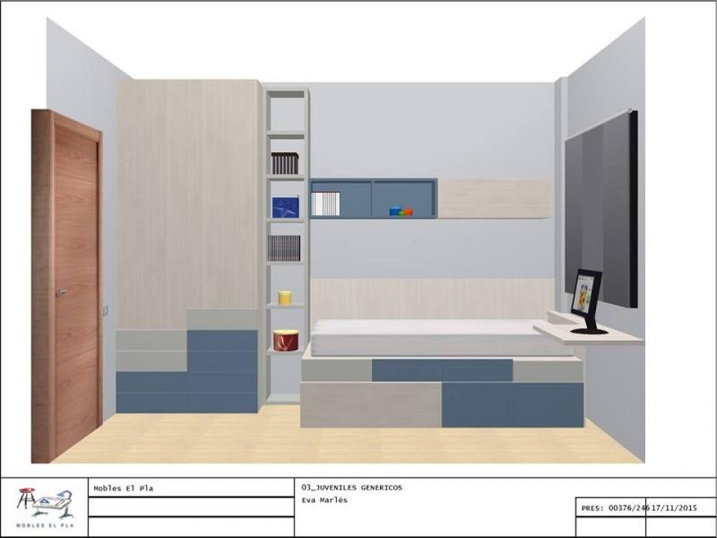 mobles El Pla Martorell blog habitació juvenil