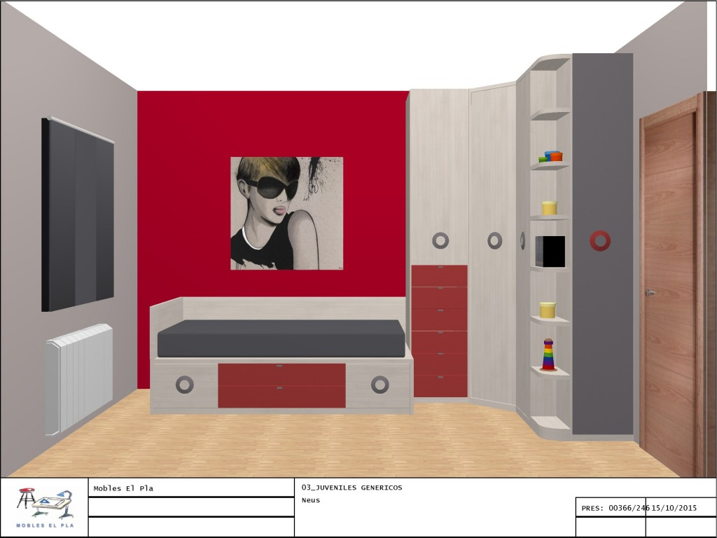 mobles El Pla Martorell projectes3D
